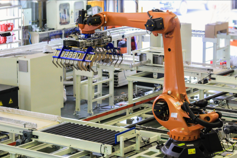 Palletising Robots Cell